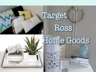 Home Decor Haul | Target, Ross + DIY