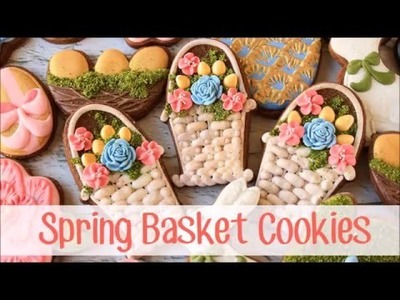 How to Make Decorated Easter Basket Cookies
