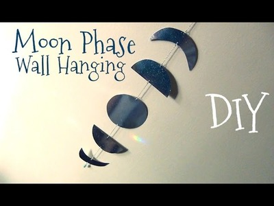 Moon Phase Wall Hanging ♥ DIY Décor