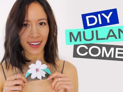 A Disney Style DIY Mulan Comb
