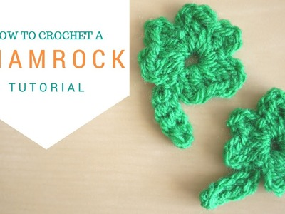 Crochet: How to crochet a Shamrock | Bella Coco