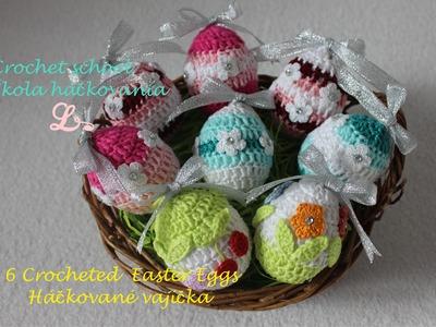 Crochet school EL, #6 Crochet Easter Egg