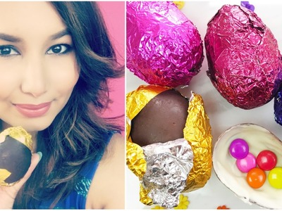 DIY Chocolate Easter Eggs   #ChipperTreats   Sonal Sagaraya