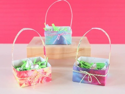 DIY Easter Basket Treat Boxes