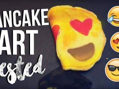 DIY Emoji Pancake Art: Pinterest DIY Test!