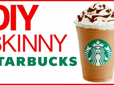 DIY HEALTHY STARBUCKS FRAPPUCINO! | Save My Sweet Tooth
