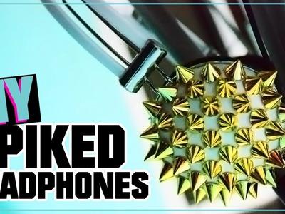 DIY - SPIKED HEADPHONES