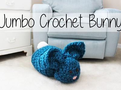 Easy Jumbo Crochet Easter Bunny Amigurumi | Sewrella