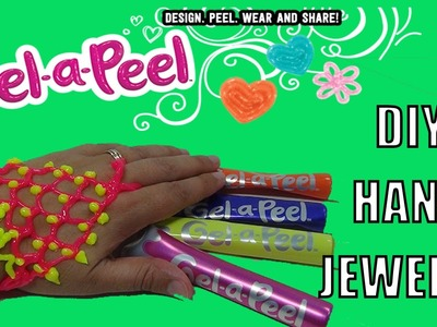 GEL-A-PEEL DIY Hand Jewelry Arts and Crafts Jewelry GEL A PEEL