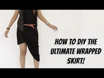 How To DIY The Ultimate Asymmetric Skirt