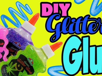 How to Make Glue! Just Like ELMERS! Edible and Safe! Do it Yourself Craft | Toy Caboodle