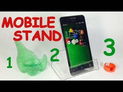 How to Make MOBILE STAND at Home | AMAZING | MUST WATCH