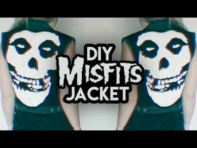 HOW TO: MISFITS DENIM JACKET DIY | Rocknroller
