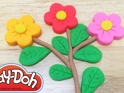 Play-Doh How to Make Flowers Playset