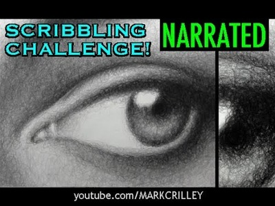 Scribbling Challenge Narrated! How to Draw Using Scribbles