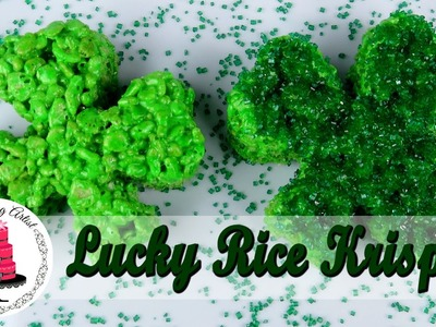 St.Patrick's Day Rice Krispie Shamrocks - How To With The Icing Artist