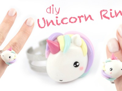 Unicorn Ring -DIY- | Kawaii Friday
