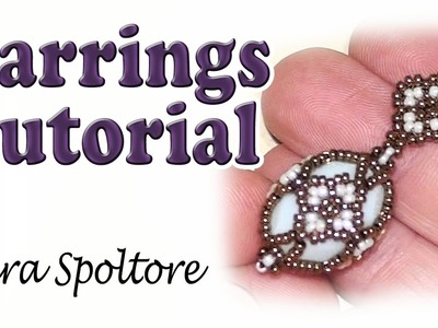 BeadsFriends: beading tutorial - How to make a Fabergé earring