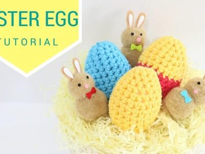 CROCHET: Easter egg tutorial | Bella Coco