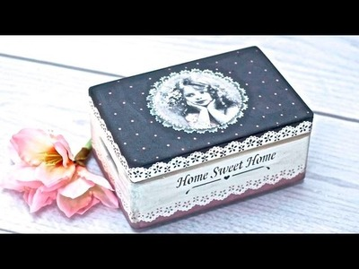 Decoupage tutorial --- DIY By Catherine