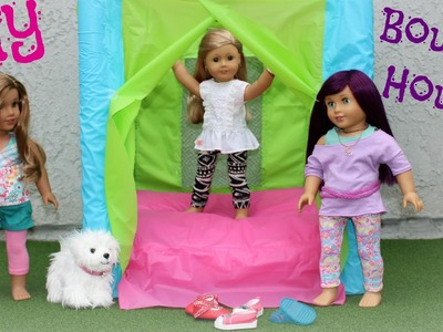 DIY American Girl Bounce House Craft