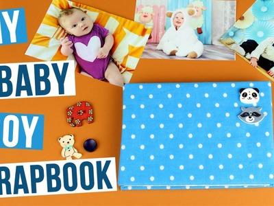 DIY Baby Boy Scrapbook