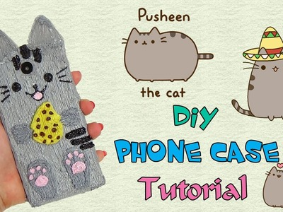 Diy Cover Telefono 3D Pen. Pusheen the Cat Phone Case 3D Printing Pens