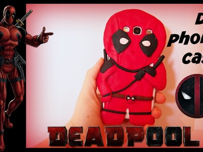 DIY.Deadpool phone case tutorial!