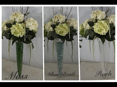 DIY: Elegant Garden Tower Centerpiece!  Tutorial