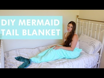 DIY Mermaid Tail Blanket | LDP