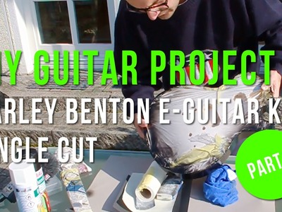 DIY Project - Harley Benton Electric Guitar Kit Single Cut (Part 3: Damn Lacquer!)