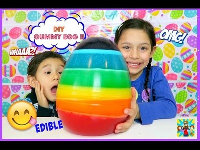 DIY WORLD'S Largest Jello EGG