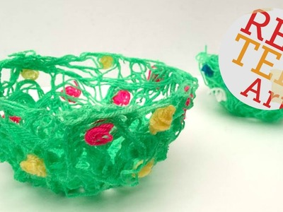 EASY DIY Yarn Bowl How To for Spring