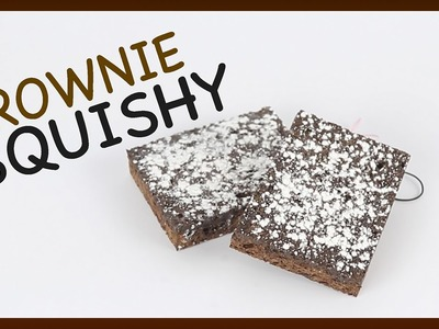 Homemade Squishy Tutorial ~ Easy DIY Brownies♥