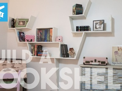 How-to Build a COOL Bookshelf. BeachBumLivin