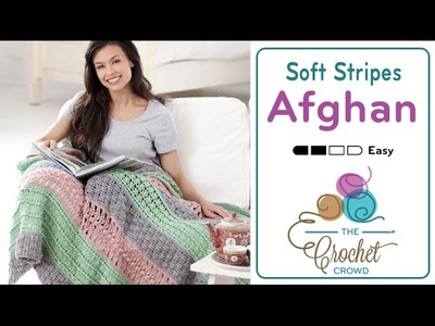 How to Crochet an Afghan: Soft Stripes