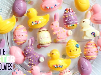 How to Make Cute Easter Chocolates