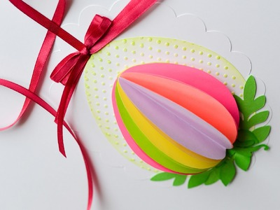 How to Make - Easter Egg Spring Decoration - Step by Step | Ozdoba Wielkanocna