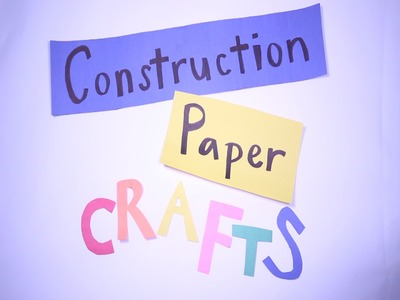 How To Make Paper Crafts for Kids - Easy Step by Step