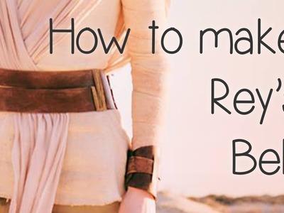 How to Make Rey's Leather Belt (Star Wars) - Atelier Heidi