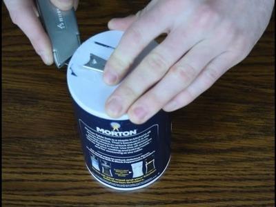 HOW TO: Make Your Own Super-Cool Mason Jar Salt Dispenser