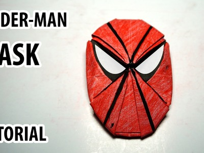 Origami Spider-man mask tutorial - DIY (Henry Phạm)