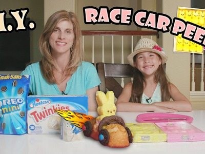 RACE CAR PEEPS! Yummy DIY Easter Activity in 4K!