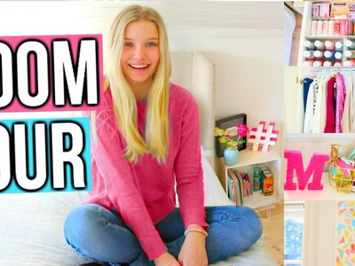 Room Tour!! + How I Organize!