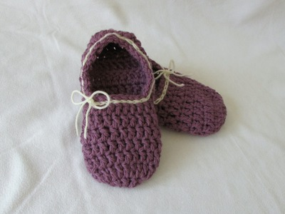 VERY EASY crochet women's chunky slippers tutorial for beginners