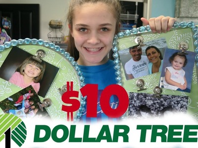 $10 DOLLAR STORE HAUL.DIY   Emma & Ellie