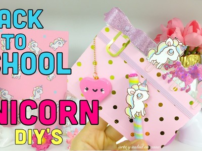 4 DIY´S.UNICORN Back to School ideas