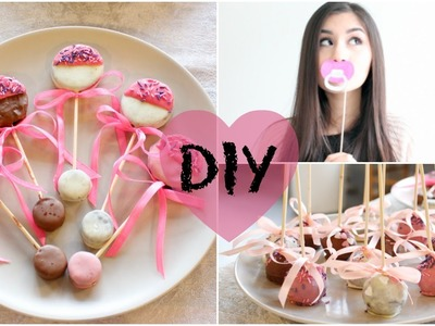 Baby shower guide: DIY Snacks, Decorations, Photo Booth props and more
