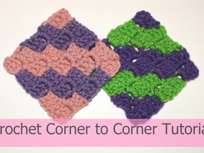 Crochet the corner to corner 'C2C' blanket