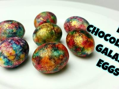 DIY CHOCOLATE GALAXY EGGS - CookingwithKarma